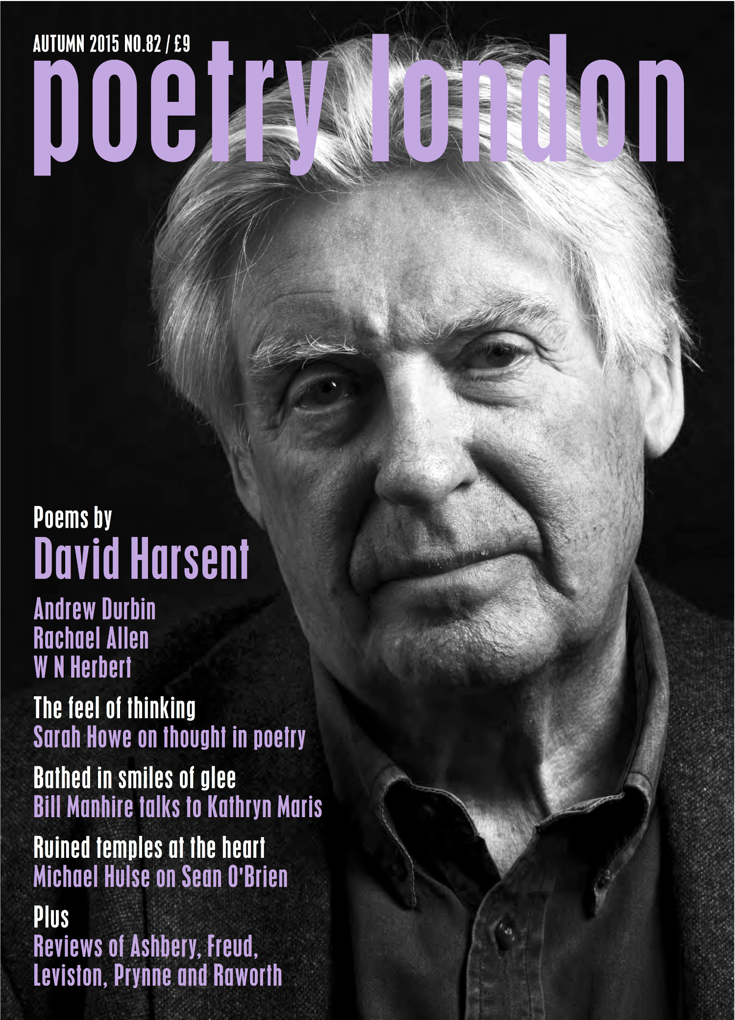 Poetry London Issue 82 cover page