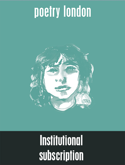 Poetry London Institutional Subscription
