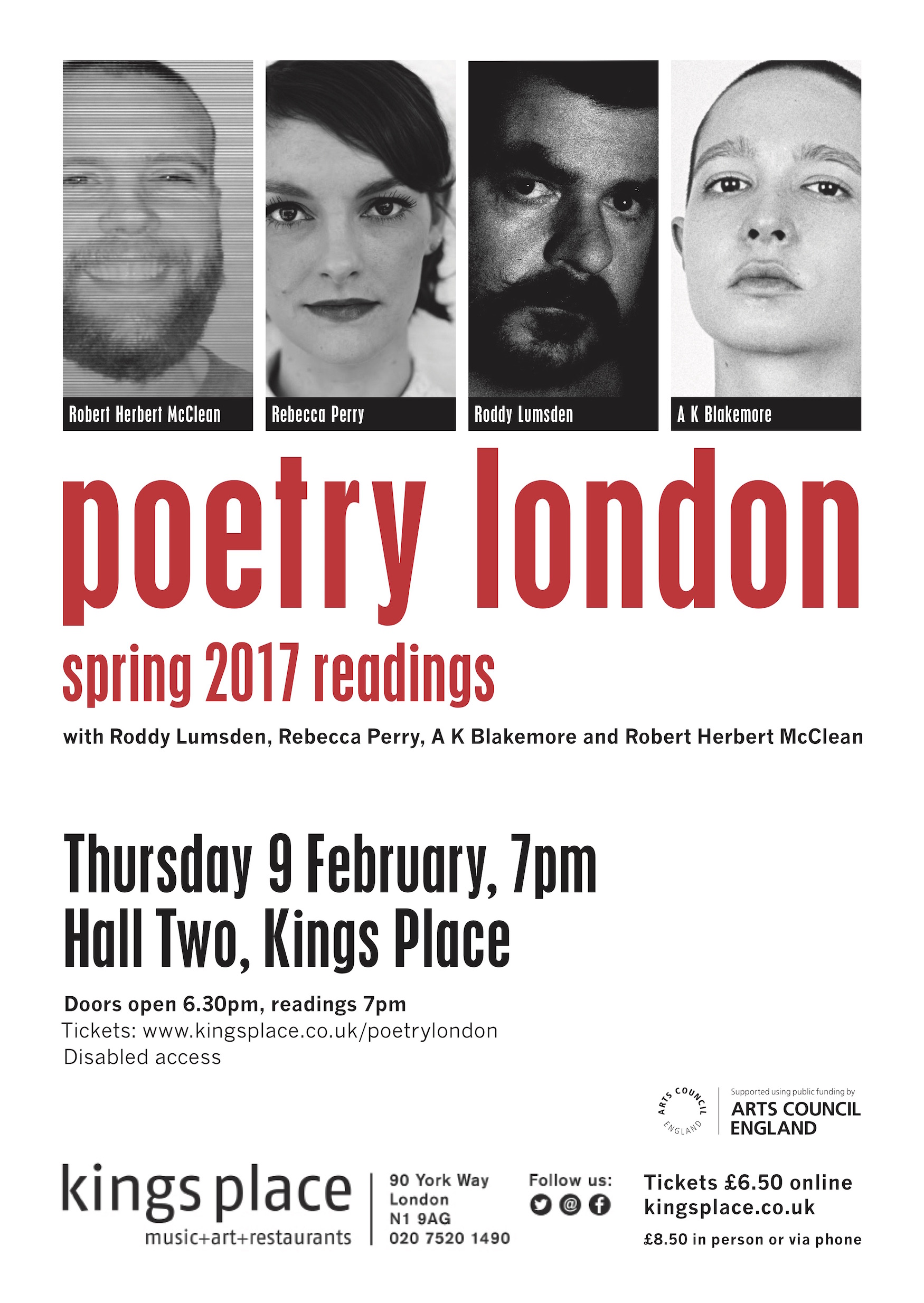 Poetry London Spring Launch Readings