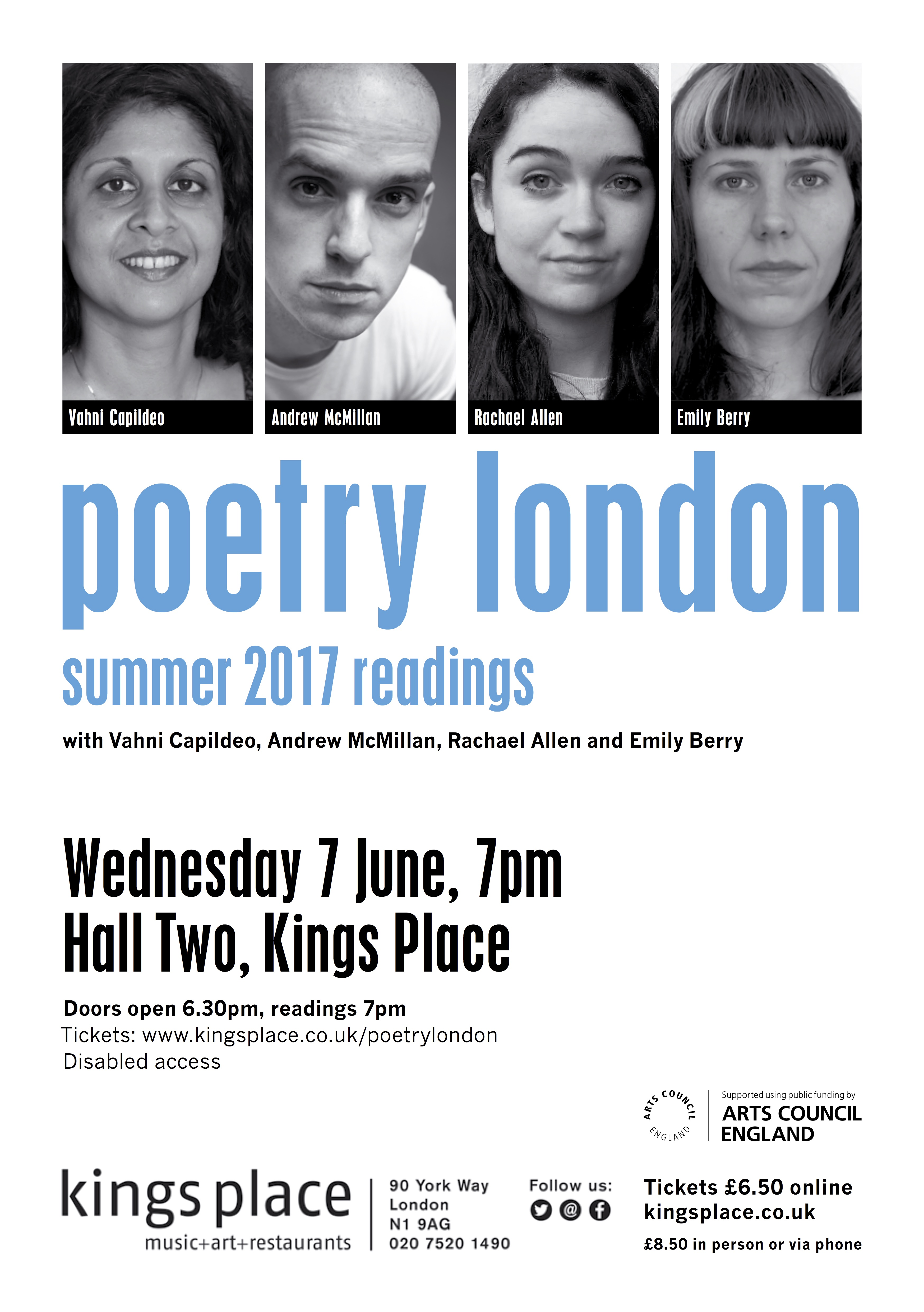Kings Place, 7 June, 7 pm