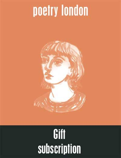 Poetry London 91 - gift subscription