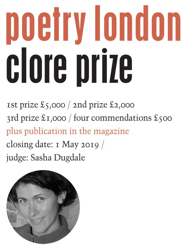 Poetry London Competition 2019